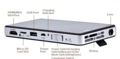 מקרן כף יד Clx Q6 Wifi