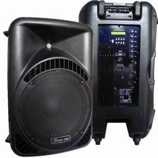 רמקול מוגבר 12″ Mix-Tech