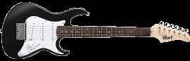 גיטרה חשמלית 3/4 שחורה+נרתיק CORT G110 JUNIOR BKS