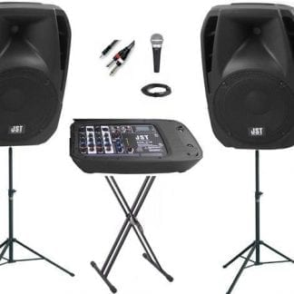 מערכת הגברה ניידת SoundKing