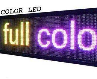 מסך לד -136X33 FULL COLOR