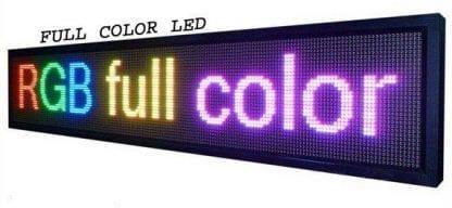 מסך לד -134X22 FULL COLOR