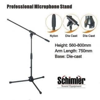 סטנד מיקרופון מקצועי Schimler S-08