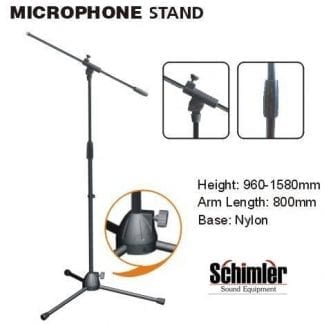 סטנד מיקרופון מקצועי Schimler S-81