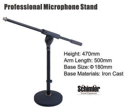 סטנד מיקרופון שולחני Schimler S-22