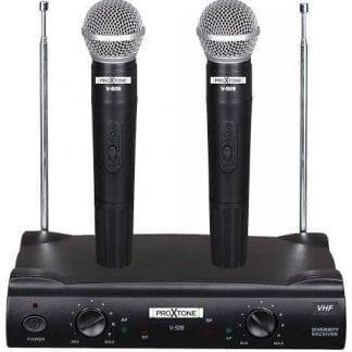 זוג מיקרופונים אלחוטייים PROXTONE V-509