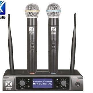 זוג מיקרופונים אלחוטיים TRX Audio U-5296
