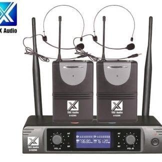 זוג מדונות אלחוטיות מבית TRX Audio U-5296