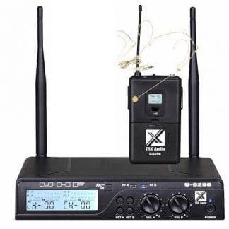 מדונה אלחוטית מבית TRX Audio U-6098MH תדר משתנה