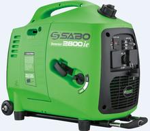 גנרטור מושתק מבית SABO GT-2800-ie סטרטר חשמלי