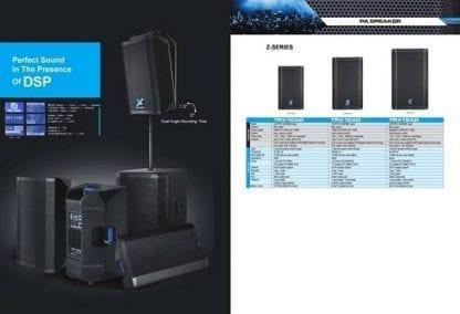 רמקול מוגבר TRX Audio Z12-A