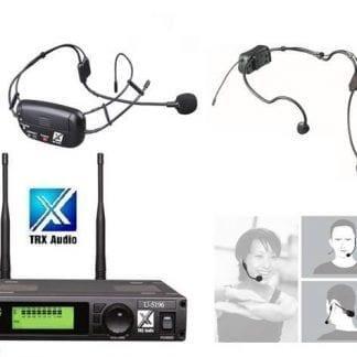 מדונה אלחוטית משדר מובנה מבית TRX Audio U-5196 תדר משתנה