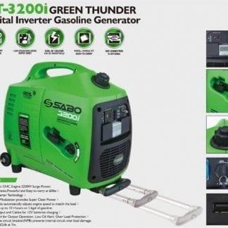 גנרטור מושתק מבית SABO GT-3200-ie סטרטר חשמלי
