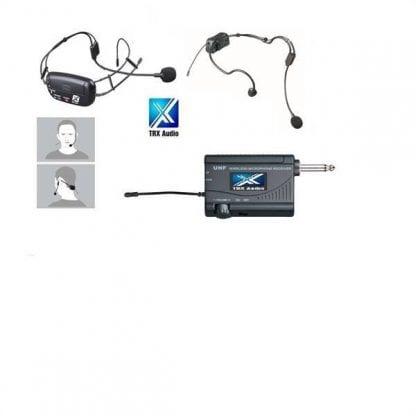 מדונה אלחוטית משדר מובנה מבית TRX Audio X-4000