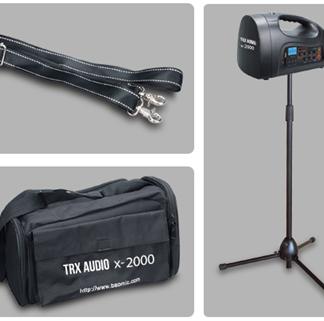 בידורית ניידת מקצועית כולל מדונה TRX AUDIO X2000