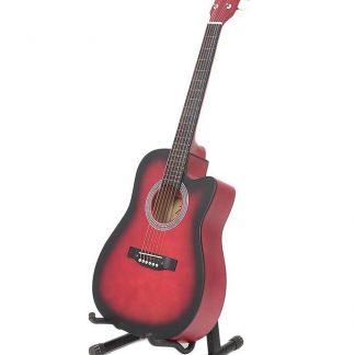 גיטרה קלאסית מוגברת 040 CUTWAY RED EQ