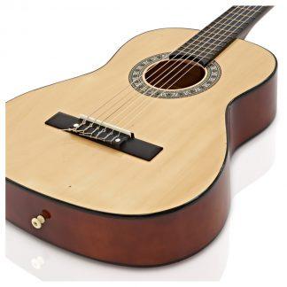 גיטרה קלאסית 1/2 אלברטו מנצ'יני NATURAL