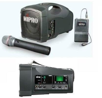 בידורית ניידת MIPRO MA 101 SU(מיקרופון)
