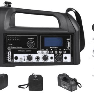 בידורית ניידת TRX Audio X-3000 (מיקרופון)