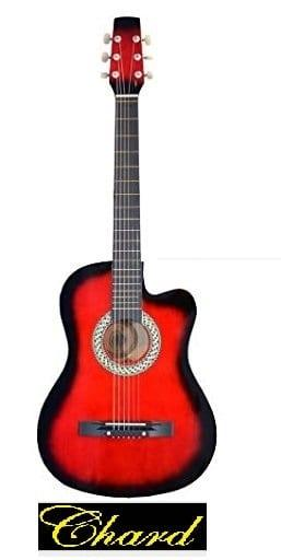 גיטרה אקוסטית מוגברת איכותית מבית C38 RED CEHARD