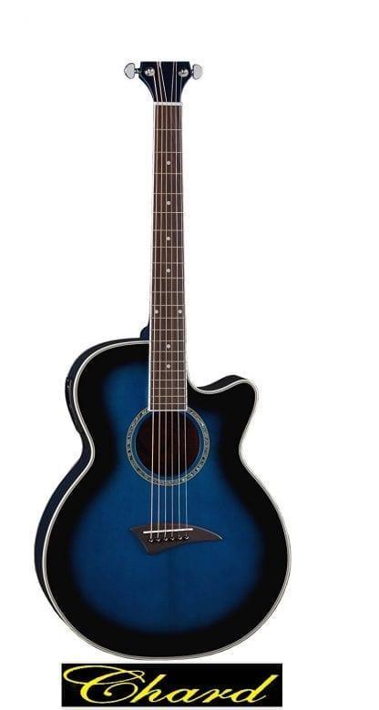 גיטרה אקוסטית מוגברת איכותית מבית C38 blue CEHARD