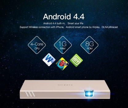 מקרן נייד אלחוטי CLX X8 Android