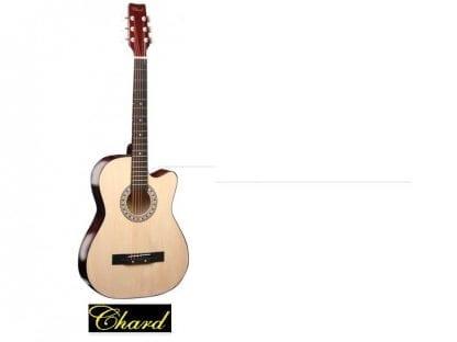 גיטרה אקוסטית מוגברת איכותית מבית C38 NAT CEHARD