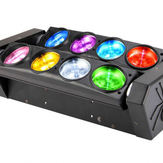 פנס ספיידר LED Spider Light RGBW CREE